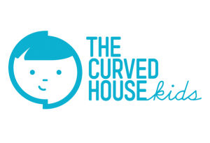 Curved-House-Kids-Logo-Blue