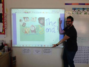 Ben Hawkes and Kristen Harrison Primary Literacy Workshops Curved House Kids Make Your Own Books