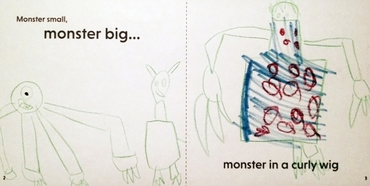 monster small, monster big by keith tilbury curved house kids