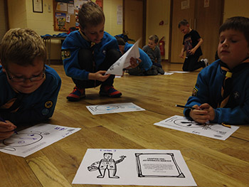 Principia Space Diary Primary Literacy Resources Curved House Kids Make Your Own Books 27th Lincoln Scouts
