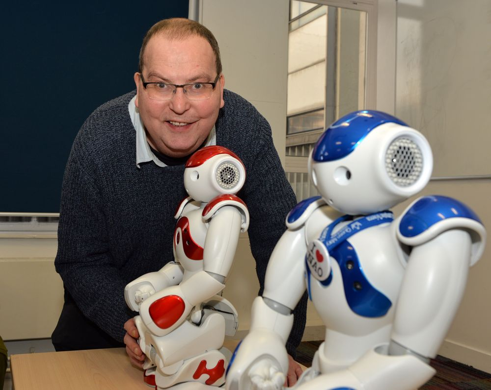 Professor Peter McOwan robotics expert