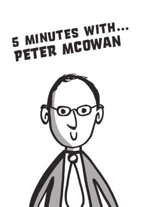 5 minutes with… Peter McOwan, Professor of Computer Science, Queen Mary, University of London