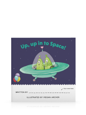 Up Up into Space Front Cover